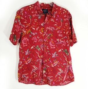 American Eagle Outfitters floral classic fit large